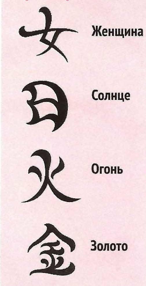 Может и выглядит этот иероглиф