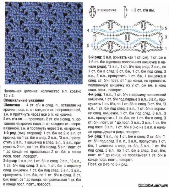 Как посчитать ряды вязание спицы 936