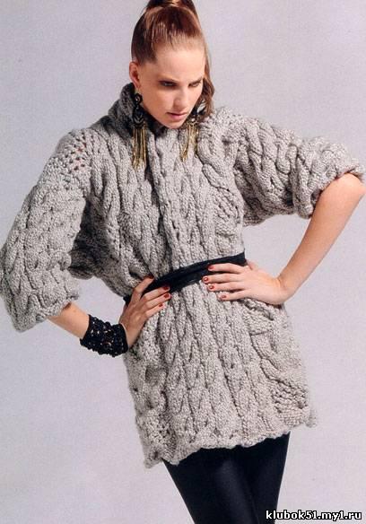 Пряжа для вязания свитера какая должна быть 84
