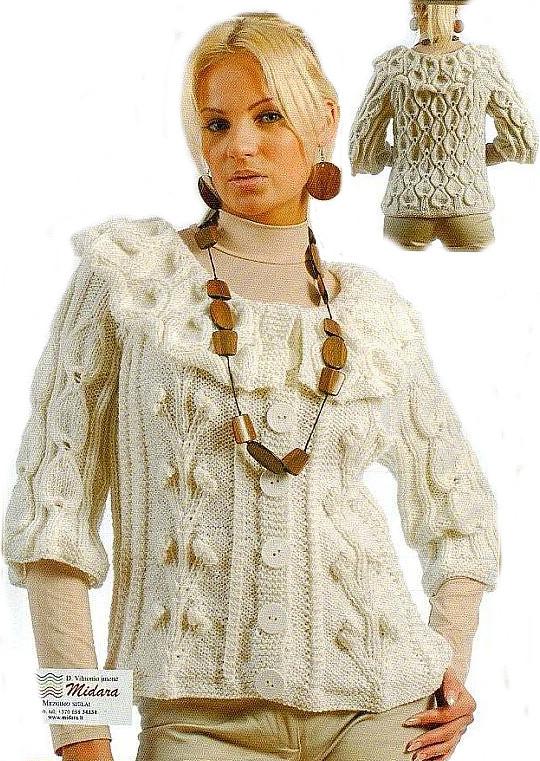 Ручное вязание модели для женщин 76