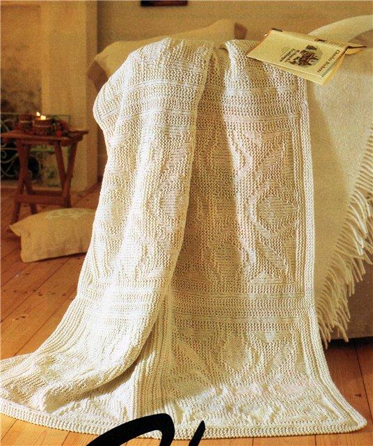 Вязаные шали и палантины и пончо. Схема вязания и описание ...