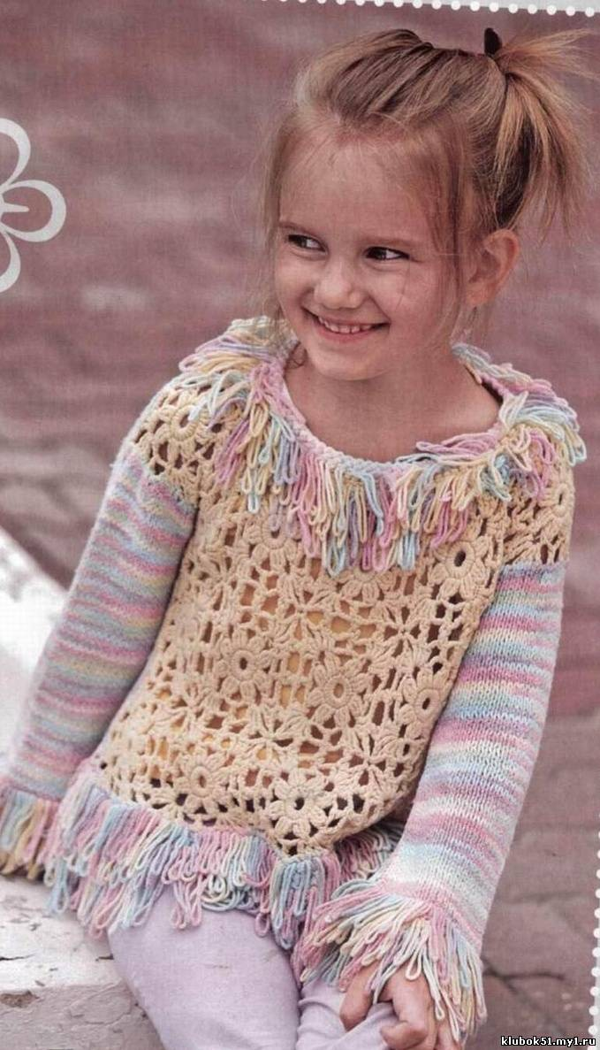 вязание для детей от 0 до 3 лет схемы и модели