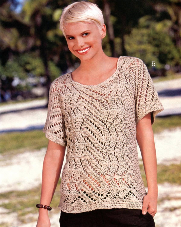 энциклопедия вязания кофты жилеты вязание для женщин 4