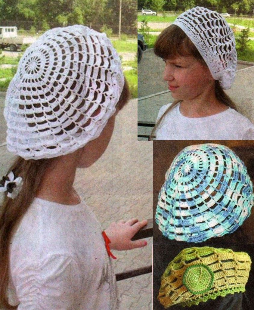 Вязание крючком шапки только фото 113