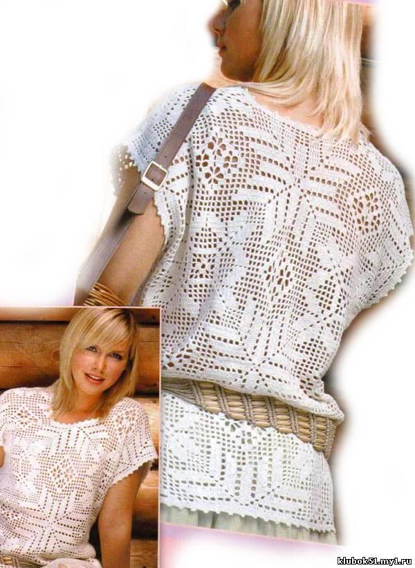 Филейного вязания для женщин 190
