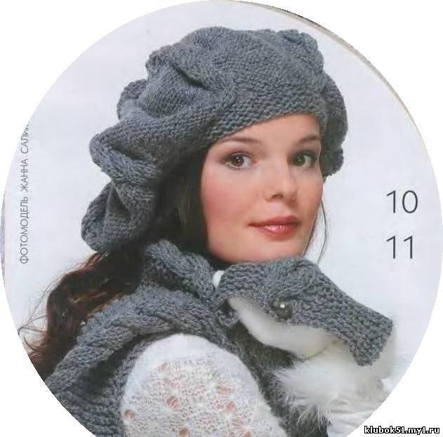 Описание: как связать мужской шарф спицами для.