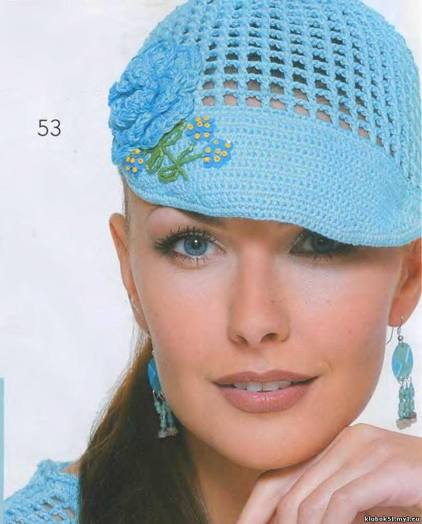 Вязание на спицах для женщин головные