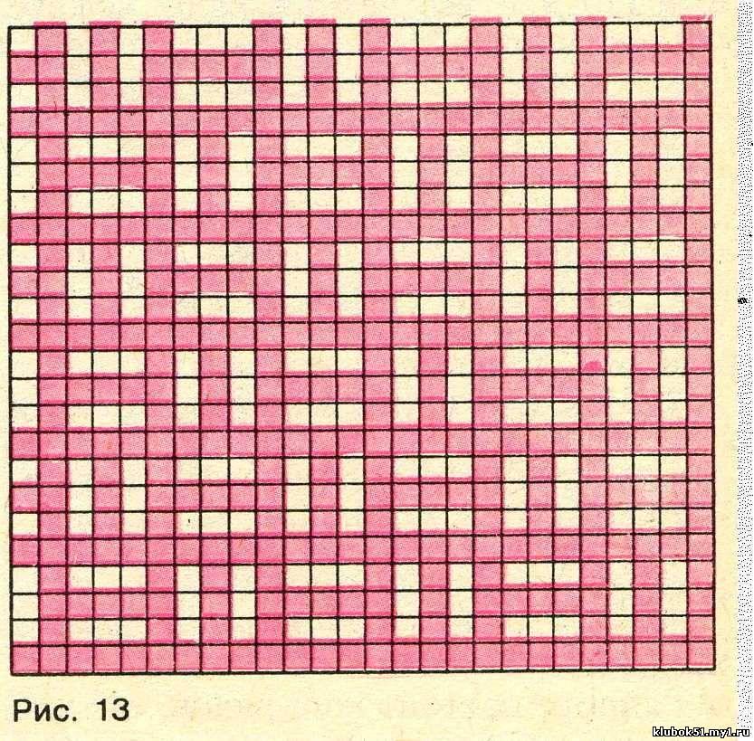 Схемы для ленивых узоров