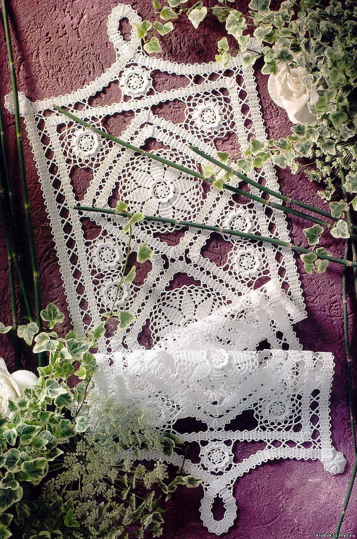 Вязание японских салфеток