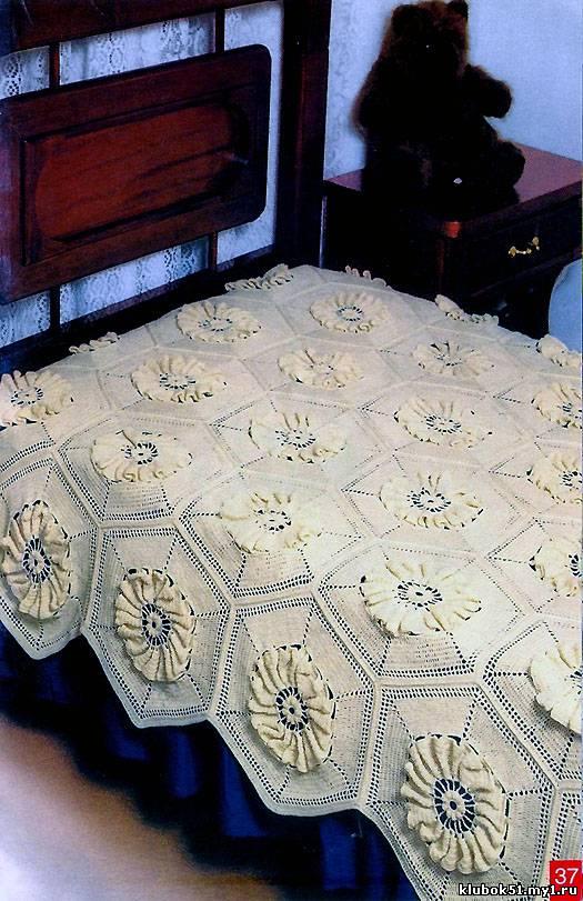 """Продолжаем наши публикации на тему  """"Великолепные узоры для вязания пледов """".  В этой части схемы для вязания всего..."""