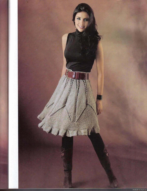 вязаная одежда для взрослых фото и схема