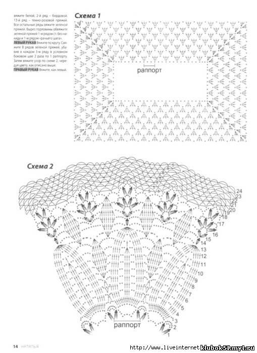 Платья вязанные крючком и схемы для девочек до года