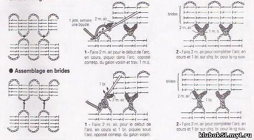 比利时花边教程(12) - 荷塘秀色 - 茶之韵