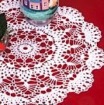 Описание: овальные салфетки крючком схемы филейное вязание.
